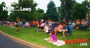 music on the lawn